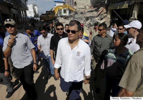 エクアドル地震、死者413人に 被災地では受刑者脱走や略奪も