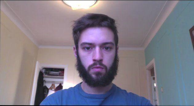 6ヶ月ヒゲを剃らなかった。