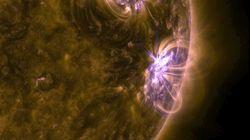 大規模な「太陽フレア」が再び発生 ガスが12日に到達予定