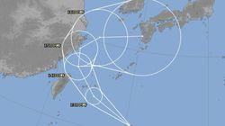 台風18号、今後の進路は? 急カーブして日本へ