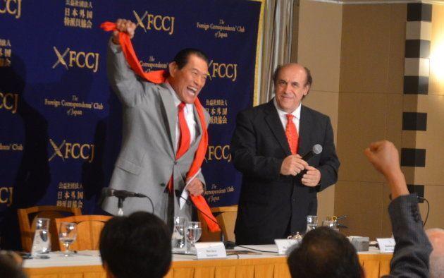 アントニオ猪木氏、議員らの訪朝団提案に「喜んでお迎えしましょう」と言われたと明かす(会見全文)