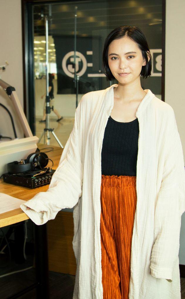比留川游さん「オーバーサイズのお洋服にハマってます」Lenet FUN! MY