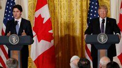 トランプ氏、NAFTAはメキシコ中心に再交渉 カナダ首相との会談で