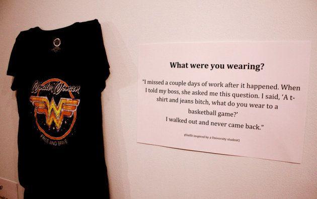 「レイプされた時、あなたは何を着ていた?」