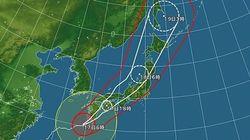 台風18号、九州上陸へ 各地の予想雨量は?