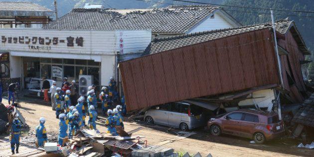 九州で雨風強まるおそれ