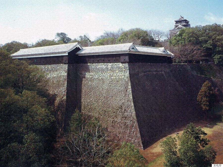 熊本城、加藤清正の築城当初から残る二つの櫓が倒壊【熊本地震】