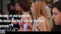 「この格好だと襲われてもおかしくないですか?」フランスの女子大生が番組内で体当たりの実験