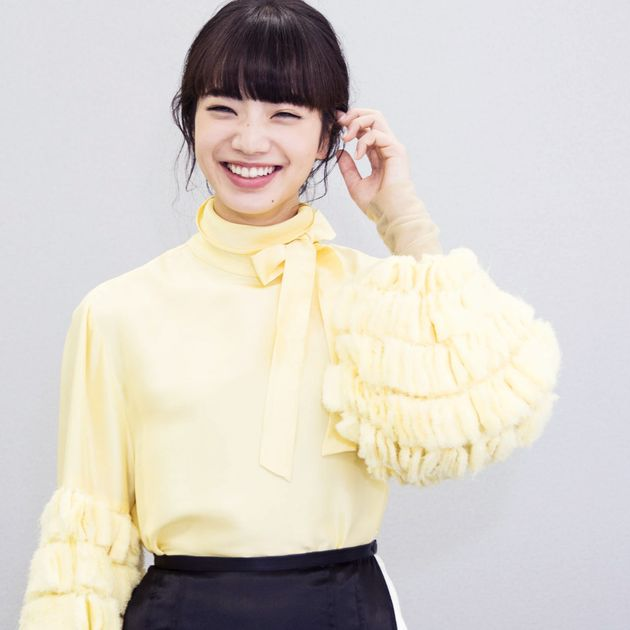 小松菜奈さん「昔の服でも自分が着れば自分の色になる」Lenet FUN! MY