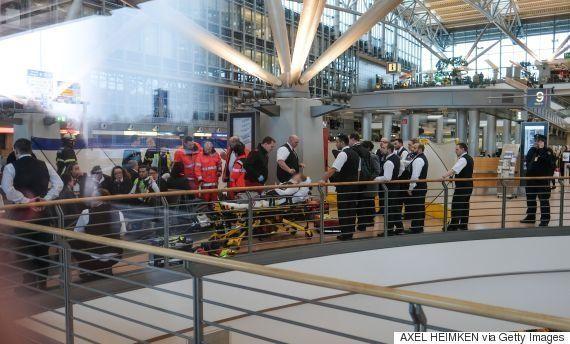 ハンブルク空港で成分不明の有害物質が空調システムから拡散か 空港は閉鎖、50人以上が病院に収容