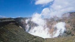 阿蘇山、中岳で小規模な噴火 地震との関連性は「分からない」気象庁
