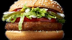 マクドナルドが100%野菜でできたハンバーガーを販売。肉の代わりにはさまれているのは?【フィンランド】