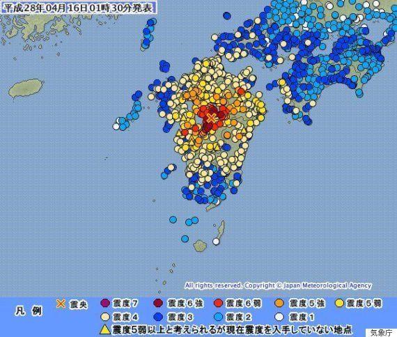 熊本・大分に広範囲な被害 震度6強の地震相次ぐ(UPDATE)