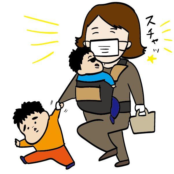 外出する子育て主婦の強い味方「マスク」の弱点