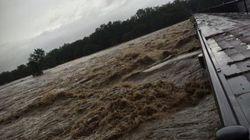 鬼怒川が氾濫 栃木と茨城に大雨特別警報【画像・動画】
