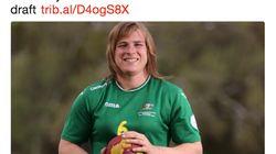 性別変えたオーストラリアの選手、女子リーグへの参加を拒まれた。