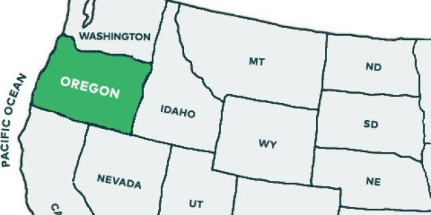 オレゴン 州