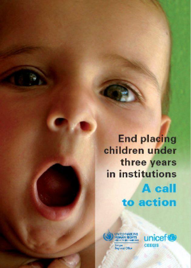ユニセフと国連人権高等弁務官事務所による『行動喚起:3歳未満の子どもの施設養育を終わらせよう』