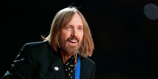 ロックミュージシャンのトム・ペティさん=2008年2月