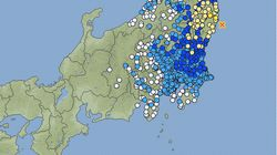 【地震情報】福島で震度5弱 東北・関東の広い範囲で揺れ観測