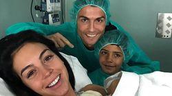 クリスティアーノ・ロナウド、第4子が誕生。恋人の子も、代理出産の双子も「みんなとても幸せだ」
