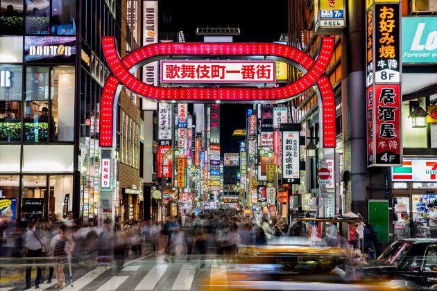 新宿・歌舞伎町の夜