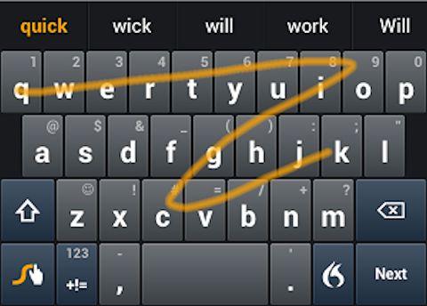 スマホの最も生産的な入力方法はフリックではなく「ひと筆書き」だ
