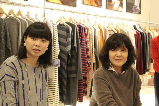 江連麻紀さんと河合蘭さん