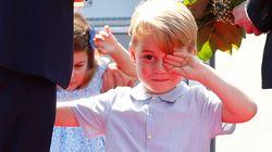 ジョージ王子、サンタクロースへのおねだりがかわいい