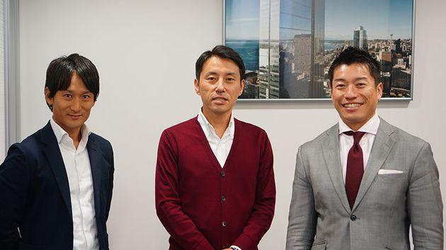 左から 山本さん、鹿子木さん、植木さん