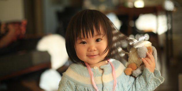 #家族のこと教えて 1歳・きのこちゃんの冒険「みんなにバイバイって手をふるの」