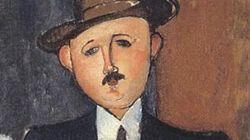 27億円の名画、パナマ文書きっかけで見つかる モディリアーニ「つえを突いて座る男」