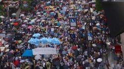 【安保法案】新宿でSEALDsなど反対デモ