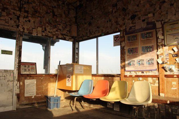 数年ぶりの北浜駅。ベンチが可愛い。そうだ私は鉄子だった。