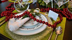 クリスマスのテーブルセッティングのアイデア集