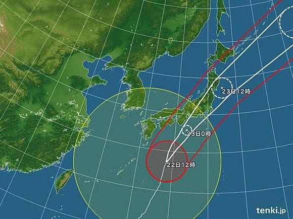 【台風21号】超大型で非常に強い台風が関東直撃 警戒期間はいつまで?