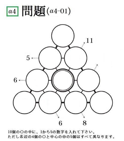 三角パズルに挑戦! 第23回(2015年第1回)