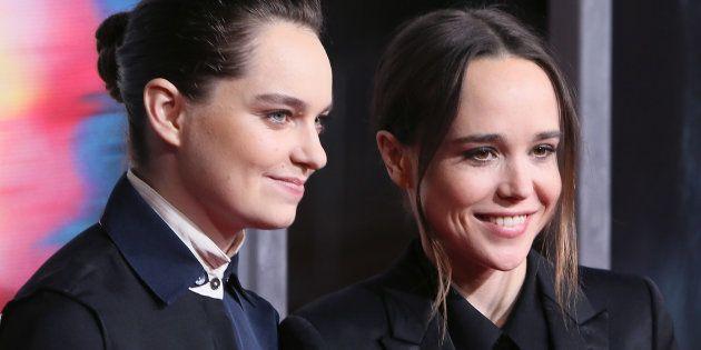 エマ・ポートナー(左)、エレン・ペイジ(右)