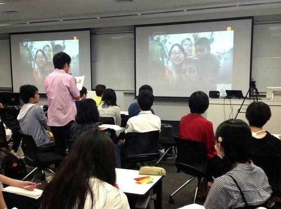 早稲田大学の教室とバングラデシュのストリートチルドレンをSkype(ビデオ通話)で繋いでみた!--挑戦する若者たち