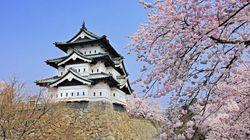 弘前城、修理で100年ぶりに移動される(動画)