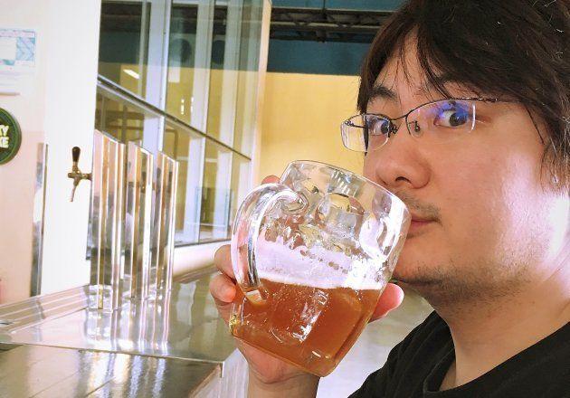 ビールを飲む、少し前の私。