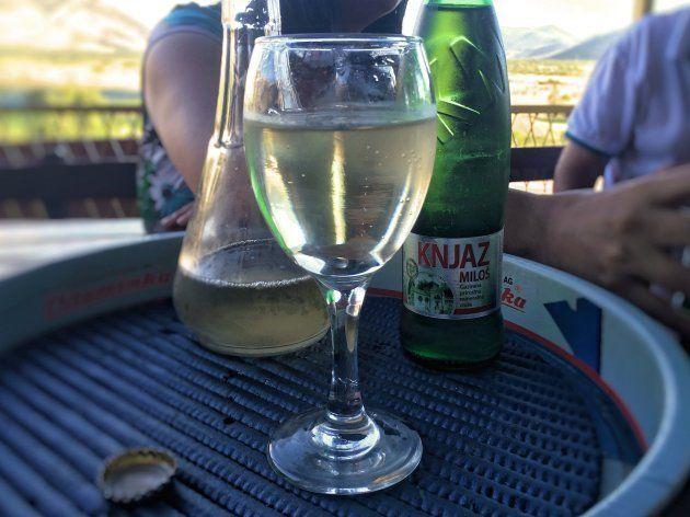 ボスニア・ヘルツェゴビナで教わった飲み方。ゲミシュト。