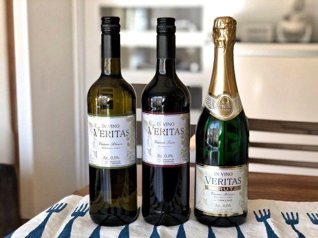 ノンアルコールワイン(白、赤、スパークリング)