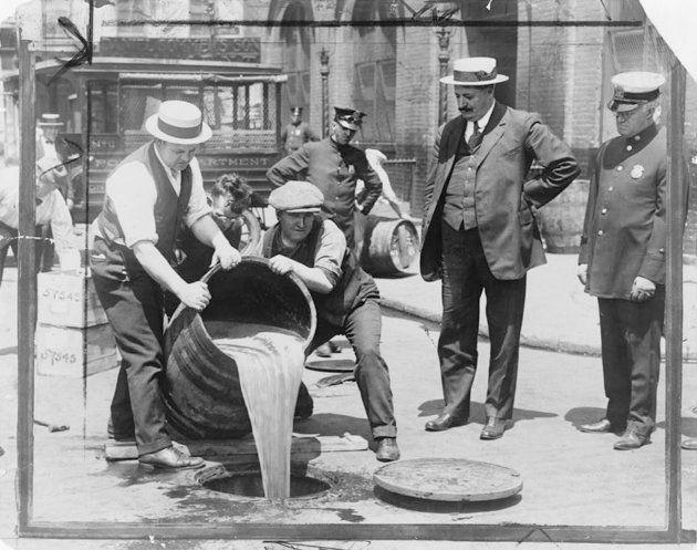 禁酒法下のアメリカ