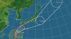 【台風22号】沖縄は暴風域に 本州も局地的な激しい雨の恐れ