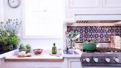 温かみと味わいのあるアクセント、タイルを使ったキッチンの魅力