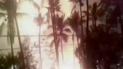花火が大爆発、死者100人以上 インドの寺院でお祭り中に(動画)