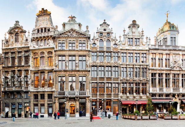 ブリュッセルの街
