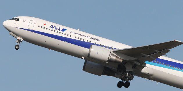 (参考画像)全日空(ANA)のボーイング767型機=31日、東京・羽田空港 撮影日:2014年03月31日