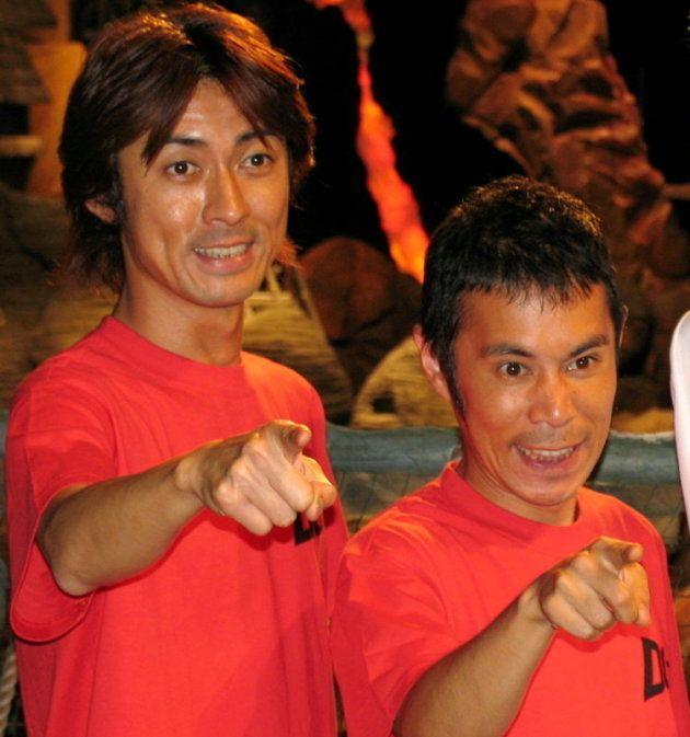 お笑いコンビ「ナインティナイン」の矢部浩之(左)と岡村隆史